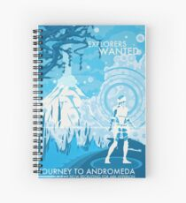 Explorers Wanted Spiral Notebook