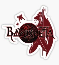 Bayonetta Sticker