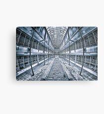 Geometric Building Metal Print