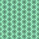 Symmetrical Geometric Pattern 7 by Tabetha Landt