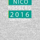 NICO ROSBERG WELT CHANPION von upick