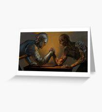 Battlehorn - Multiplayer Theme Greeting Card