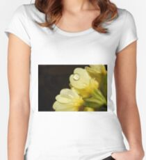 Cowslip in the rain Women's Fitted Scoop T-Shirt