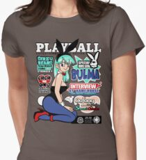 PlayBall Bulma Women's Fitted T-Shirt