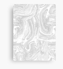 Monochrome Swirl Canvas Print