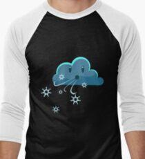 Blustery Wind Men's Baseball ¾ T-Shirt