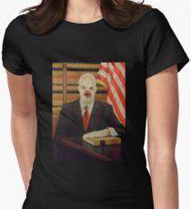 Morty Flukeman for Senate Women's Fitted T-Shirt