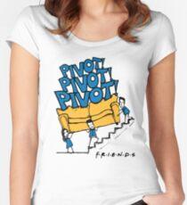 Friends- Pivot Pivot Pivot Women's Fitted Scoop T-Shirt