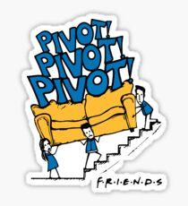 Friends- Pivot Pivot Pivot Sticker