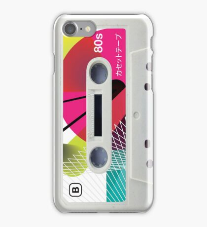 Colourful 80s Cassette iPhone Case