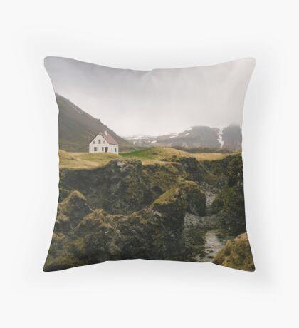 Arnarstapi Throw Pillow