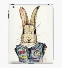 Metal Bunny iPad Case/Skin