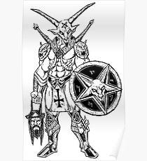 Battle Goat Poster