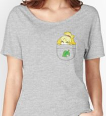 Pocket Isabelle + Leaf Women's Relaxed Fit T-Shirt