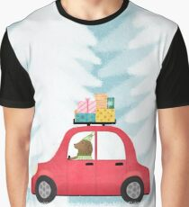 Christmas scene Graphic T-Shirt