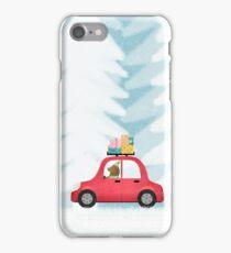 Christmas scene iPhone Case/Skin