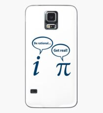 Be Rational Get Real Imaginary Math Pi Case/Skin for Samsung Galaxy