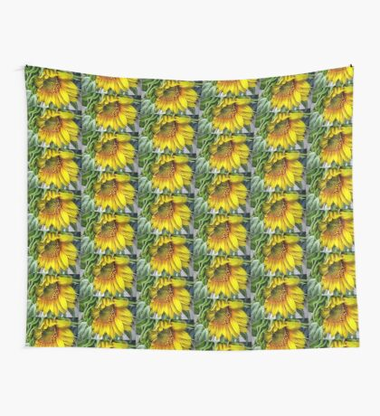 Rising Sun Wall Tapestry