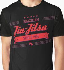 BJJ 3D Banner Graphic T-Shirt
