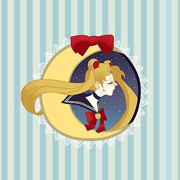 Sailor moon by ophilinono