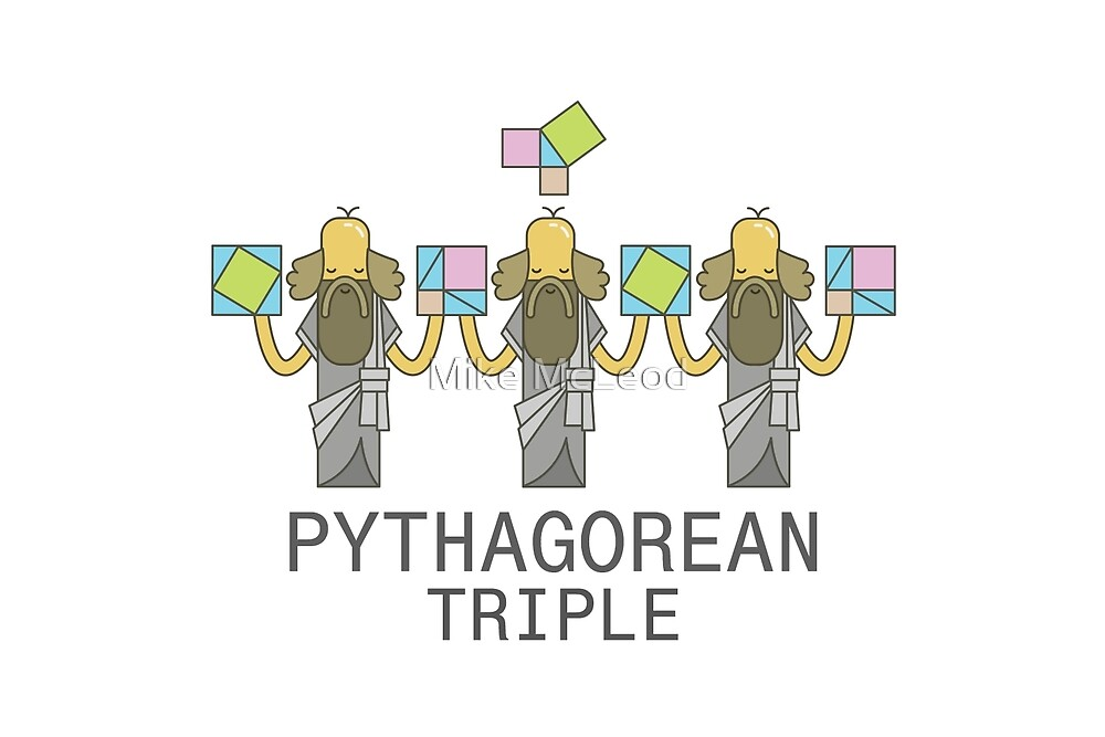 Pythagorean Triple by Mike McLeod
