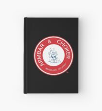 Armbar & Choker BJJ Hardcover Journal