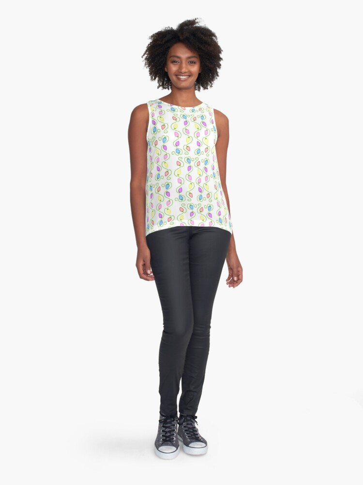 Alternate view of Light Up The Room Sleeveless Top