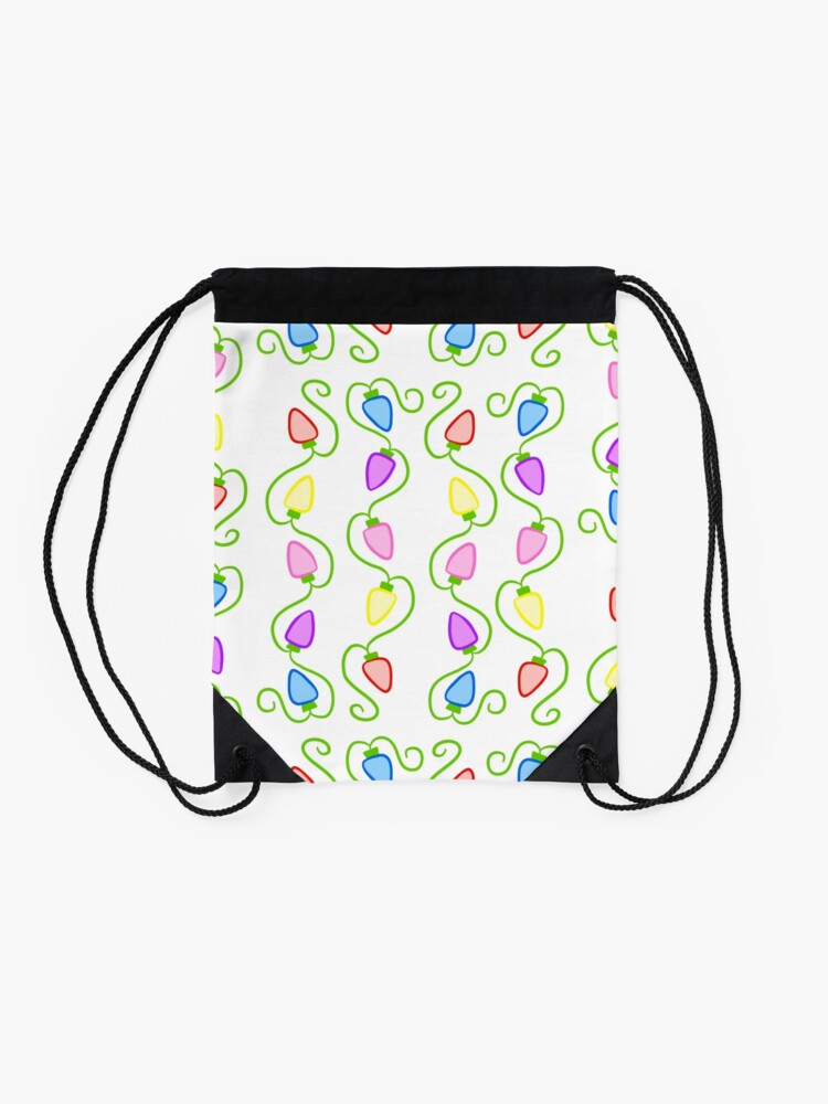 Alternate view of Light Up The Room Drawstring Bag