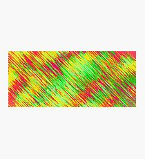 green red yellow painting texture abstract background Photographic Print