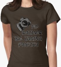 I'd Rather Be (1 of 2) Womens Fitted T-Shirt
