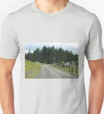 The way into town Unisex T-Shirt