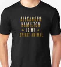 alexander hamilton is my spirit animal T-Shirt