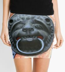 Middle Ages door handle, gate in Germany Mini Skirt