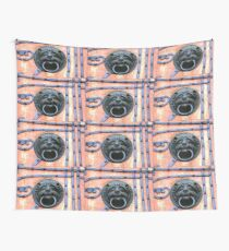 Middle Ages door handle, gate in Germany Wall Tapestry