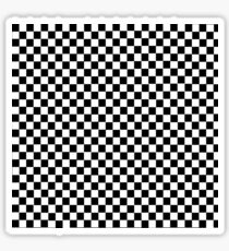 checker design Sticker