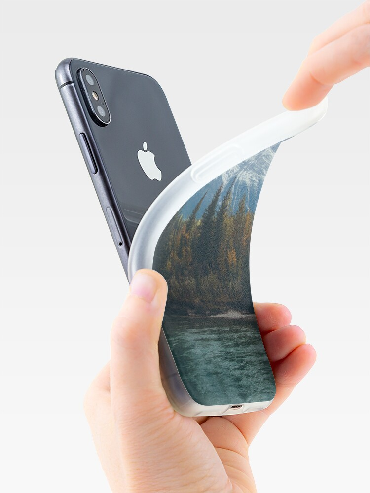 Alternate view of mountain river iPhone Cases & Covers