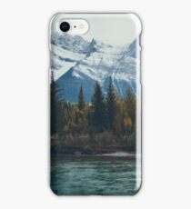 mountain river iPhone Case/Skin
