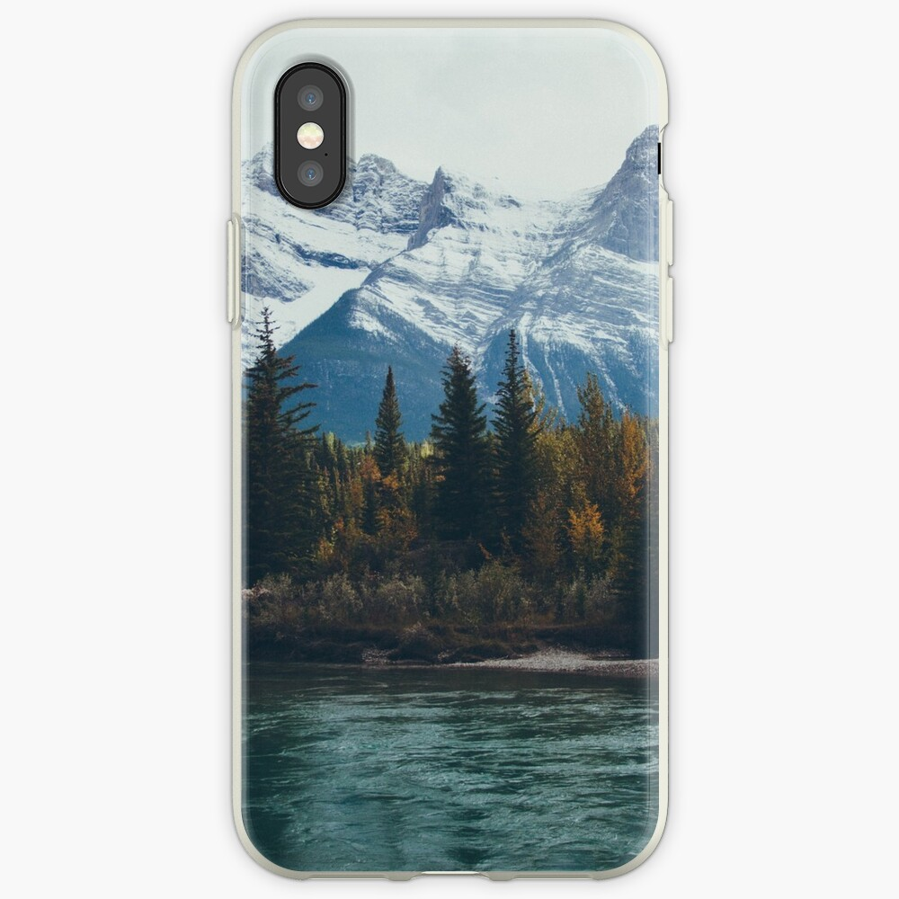 mountain river iPhone Cases & Covers