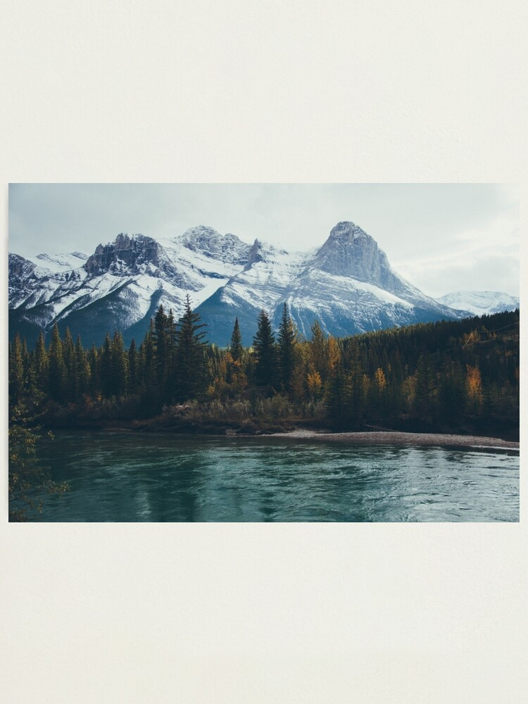 Alternate view of mountain river Photographic Print