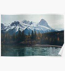 mountain river Poster
