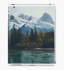 mountain river iPad Case/Skin