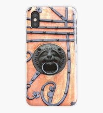 Gate or Door Handle of middle Ages in Germany iPhone Case