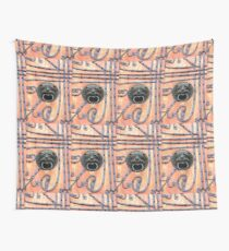 Gate or Door Handle of middle Ages in Germany Wall Tapestry