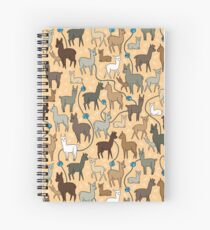 Happy Alpacas Spiral Notebook