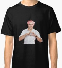 Justin Trudeau Flower Crown Classic T-Shirt