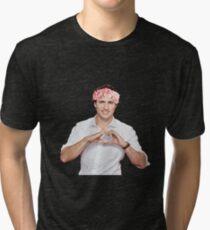Justin Trudeau Flower Crown Tri-blend T-Shirt