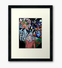 Yu-Gi-Oh - Pegasus Framed Print