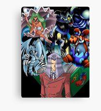 Yu-Gi-Oh - Pegasus Canvas Print