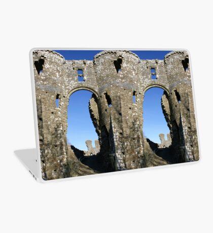 Castles of Wales, Welsh Castle, Ruins Laptop Skin