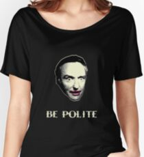 BE POLITE Women's Relaxed Fit T-Shirt